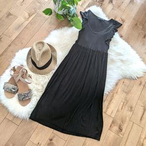 FRENCH CONNECTION - Sleeveless Midi Dress